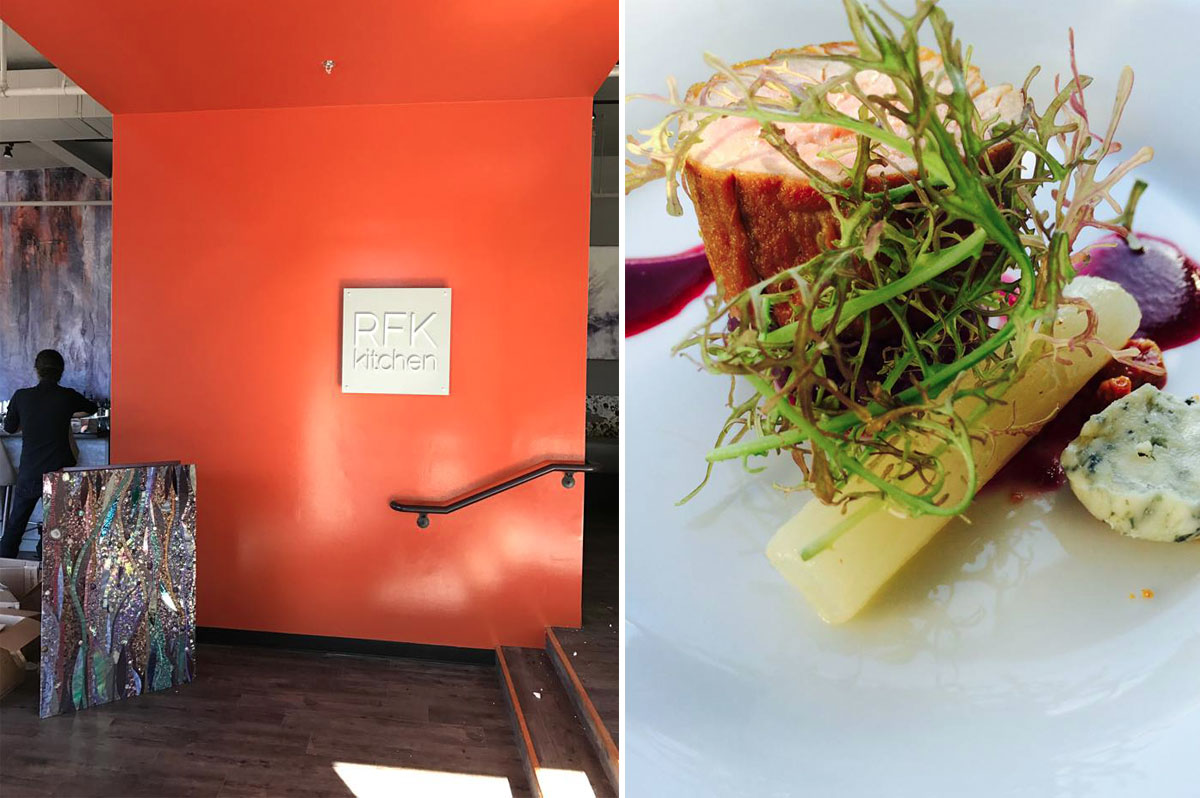 RFK Kitchen and Pork with salsify