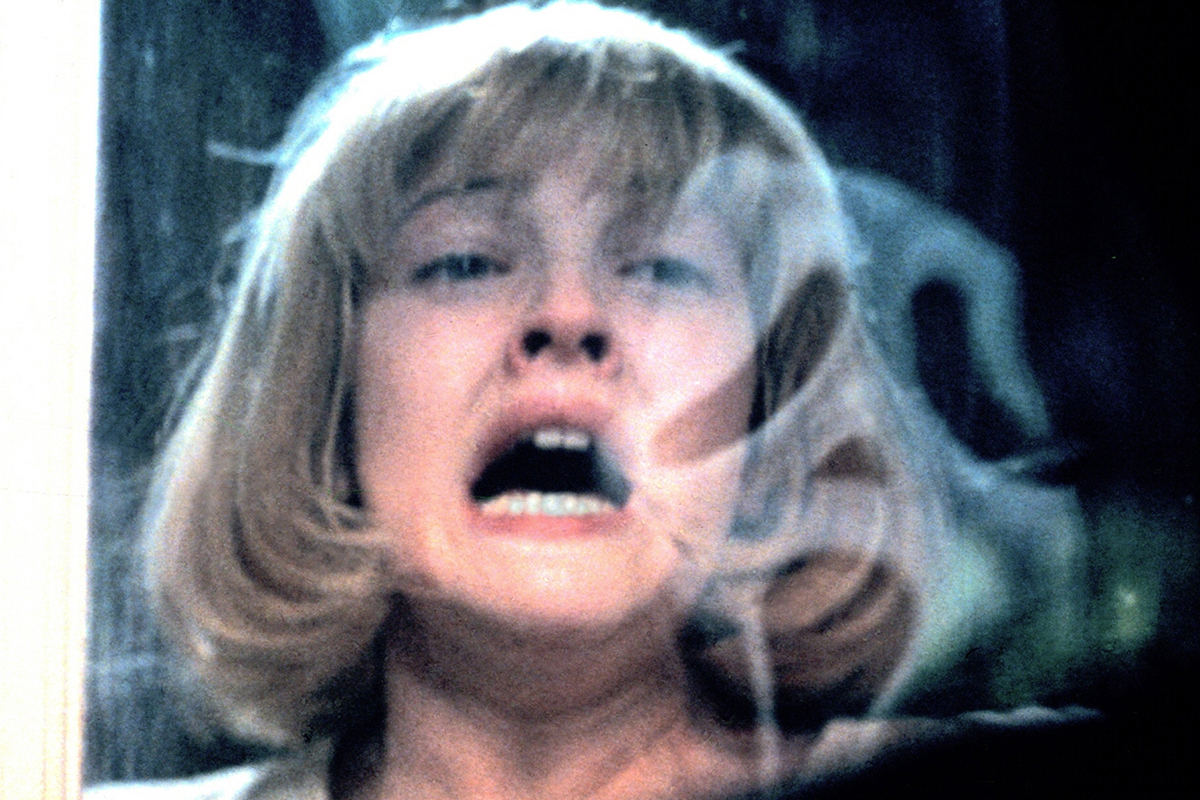 Scream (1996) Directed by Wes Craven Shown: Drew Barrymore (as Casey) Photo courtesy of Photofest