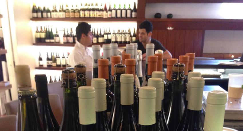 Tasting Counter Debuts A Late Night Natural Wine Bar