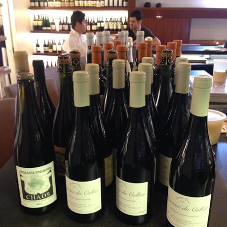 Tasting Counter natural wine bar square