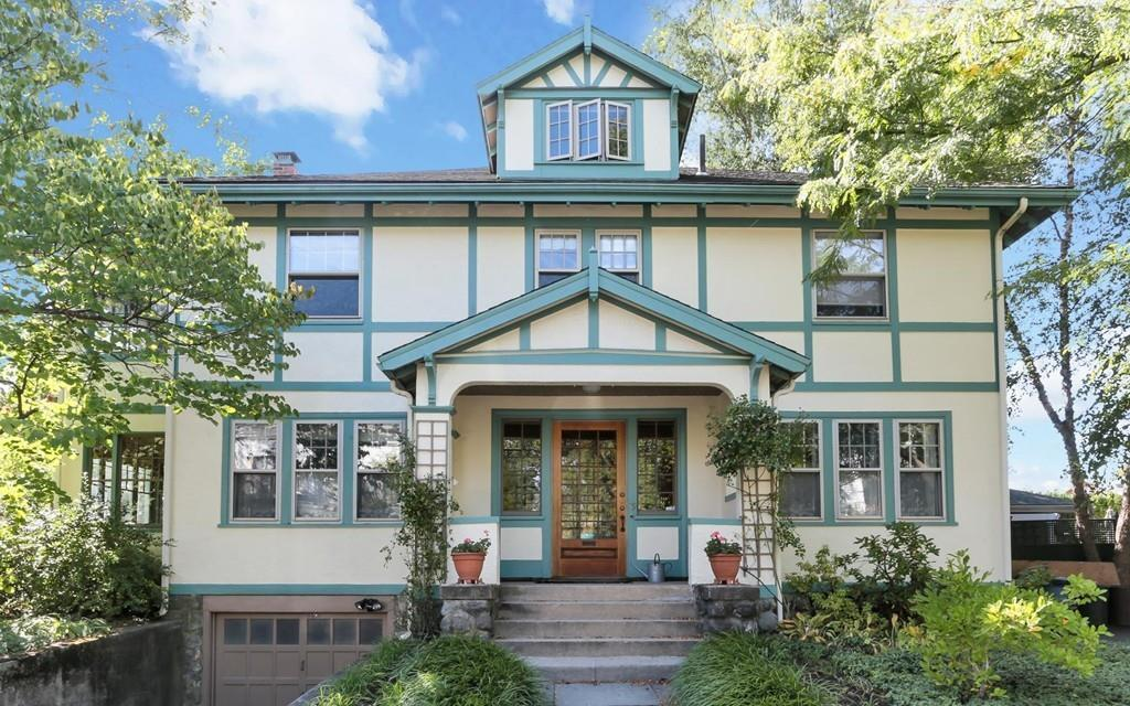 On the market an arts and crafts home in waltham boston for Arts and crafts home magazine