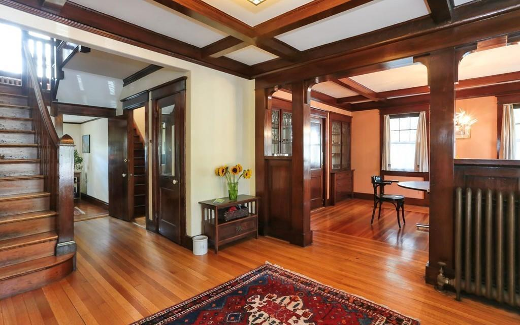 On The Market An Arts And Crafts Home In Waltham Boston
