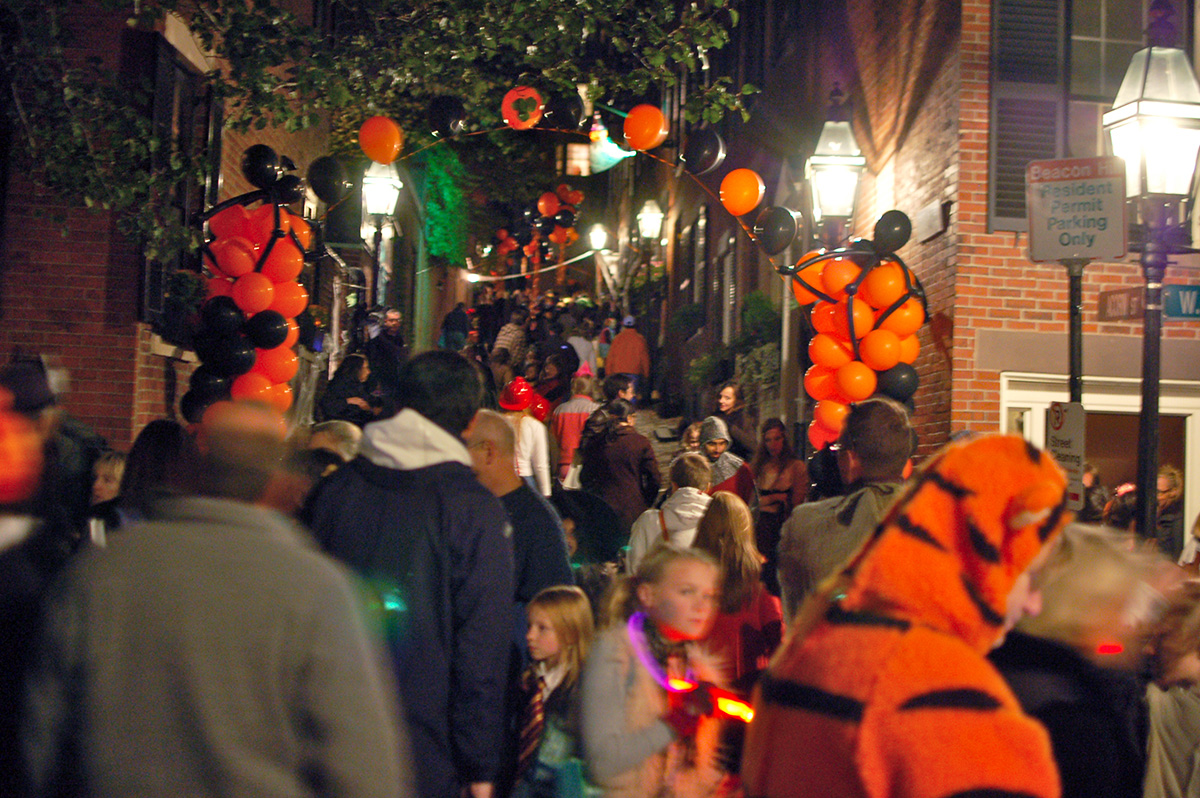 best trick-or-treating streets boston