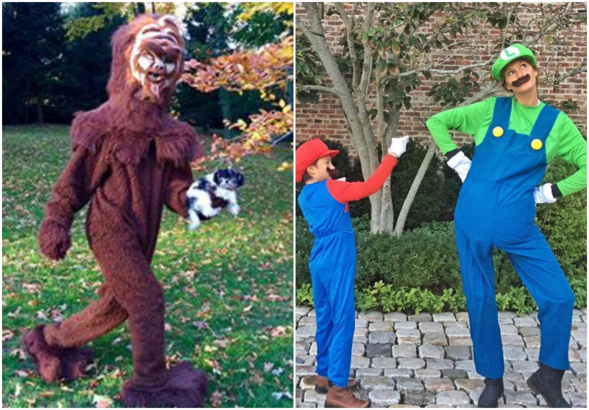 Tom Brady and Gisele Show Off Their Halloween Costumes