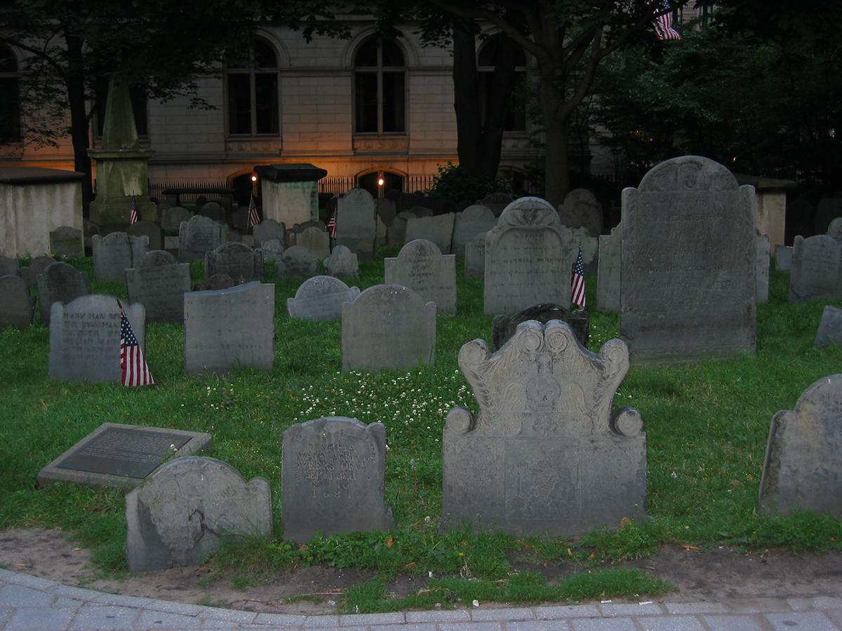 kings chapel burying ground