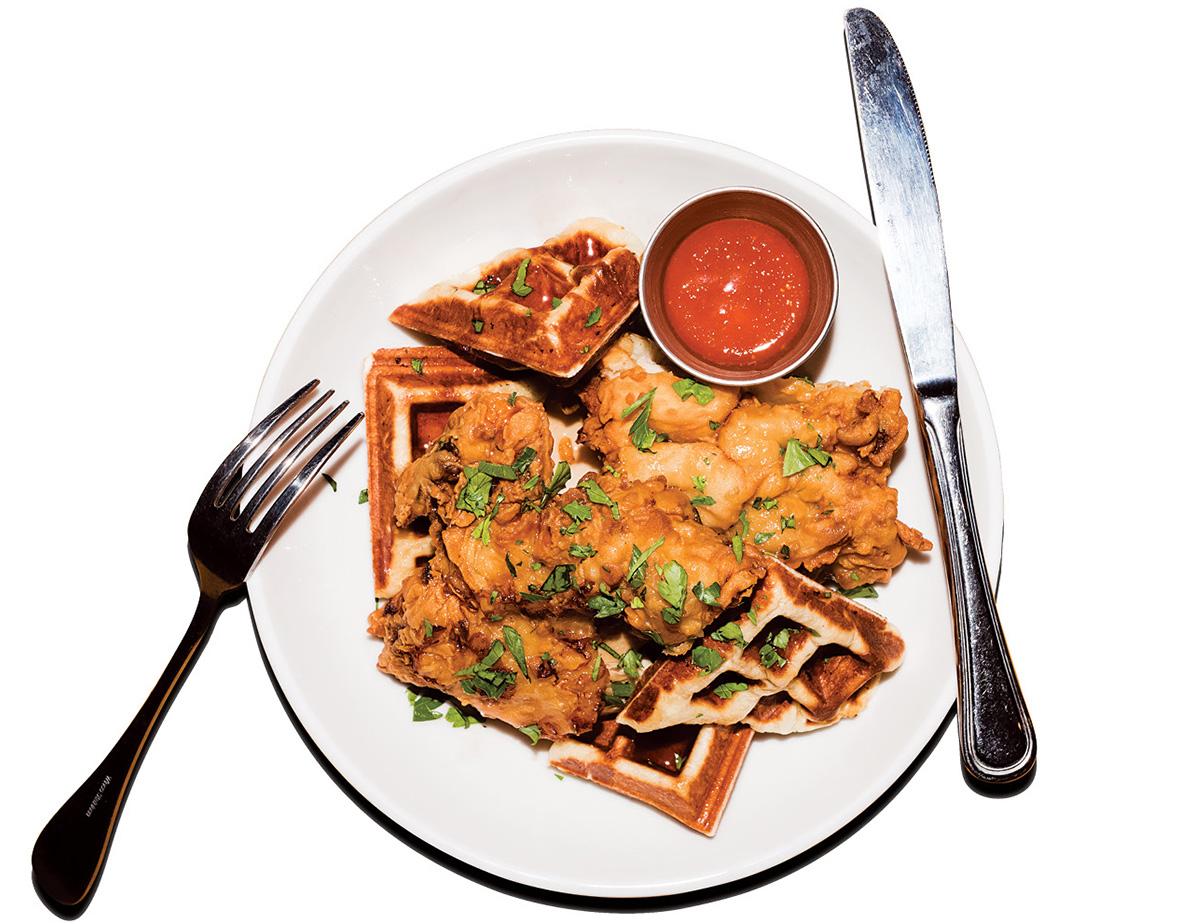 chicken waffles brassica kitchen