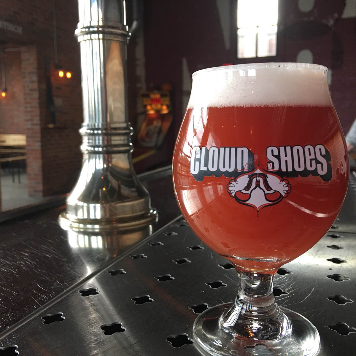 Black currant saison, by Clown Shoes Beer