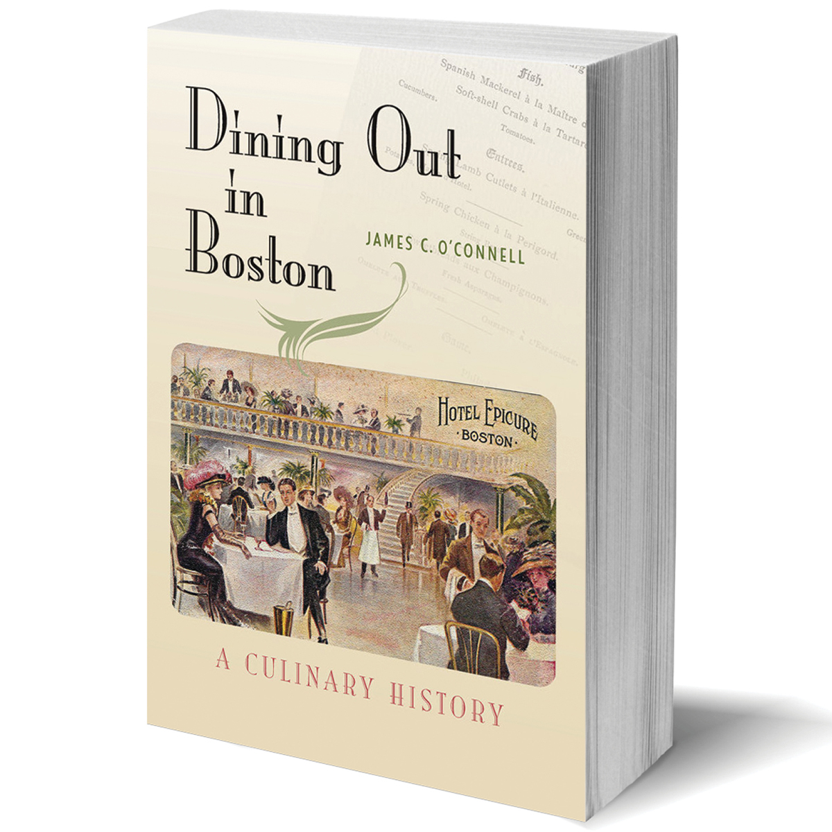 dining out boston book culinary history james oconnell