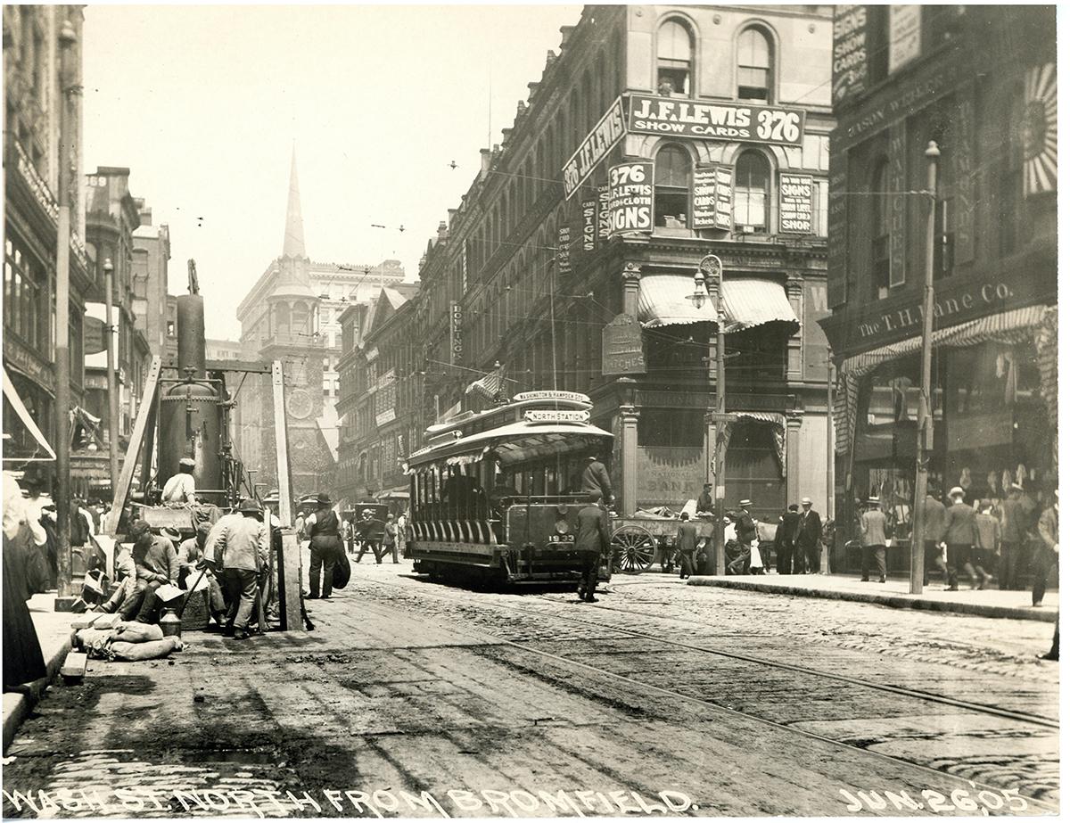 downtown boston historic