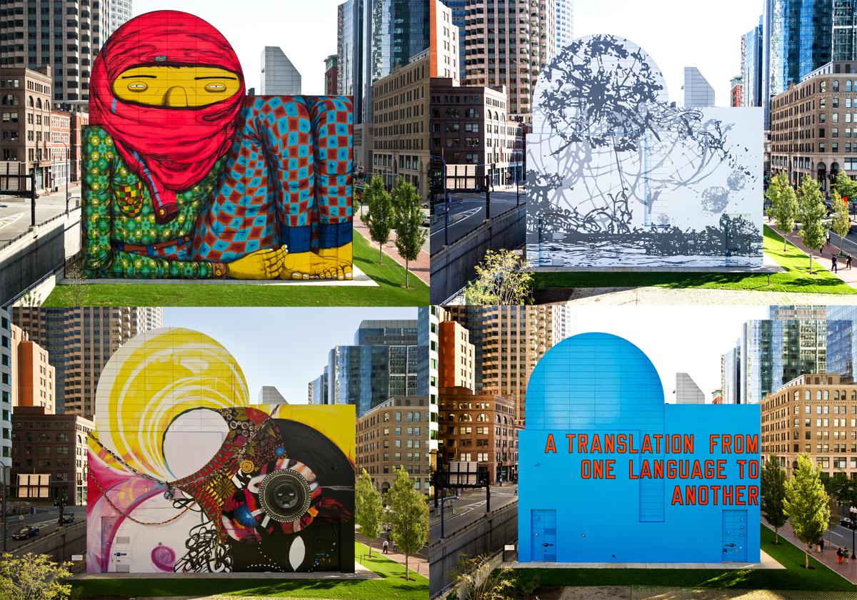 greenway murals