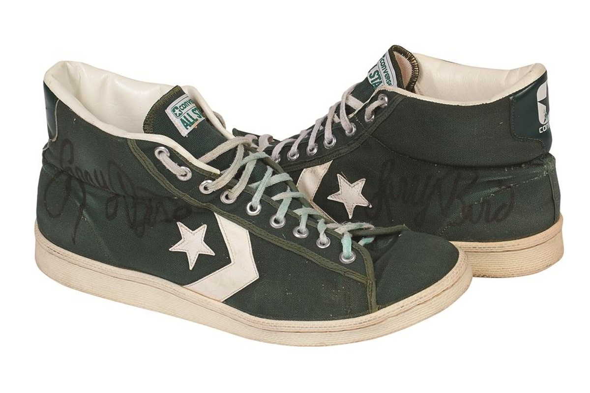 cb072be792bd87 Larry Bird s Rookie-Year Sneakers Up for Auction