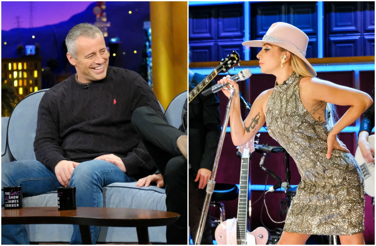 Matt LeBlanc and Lady Gaga