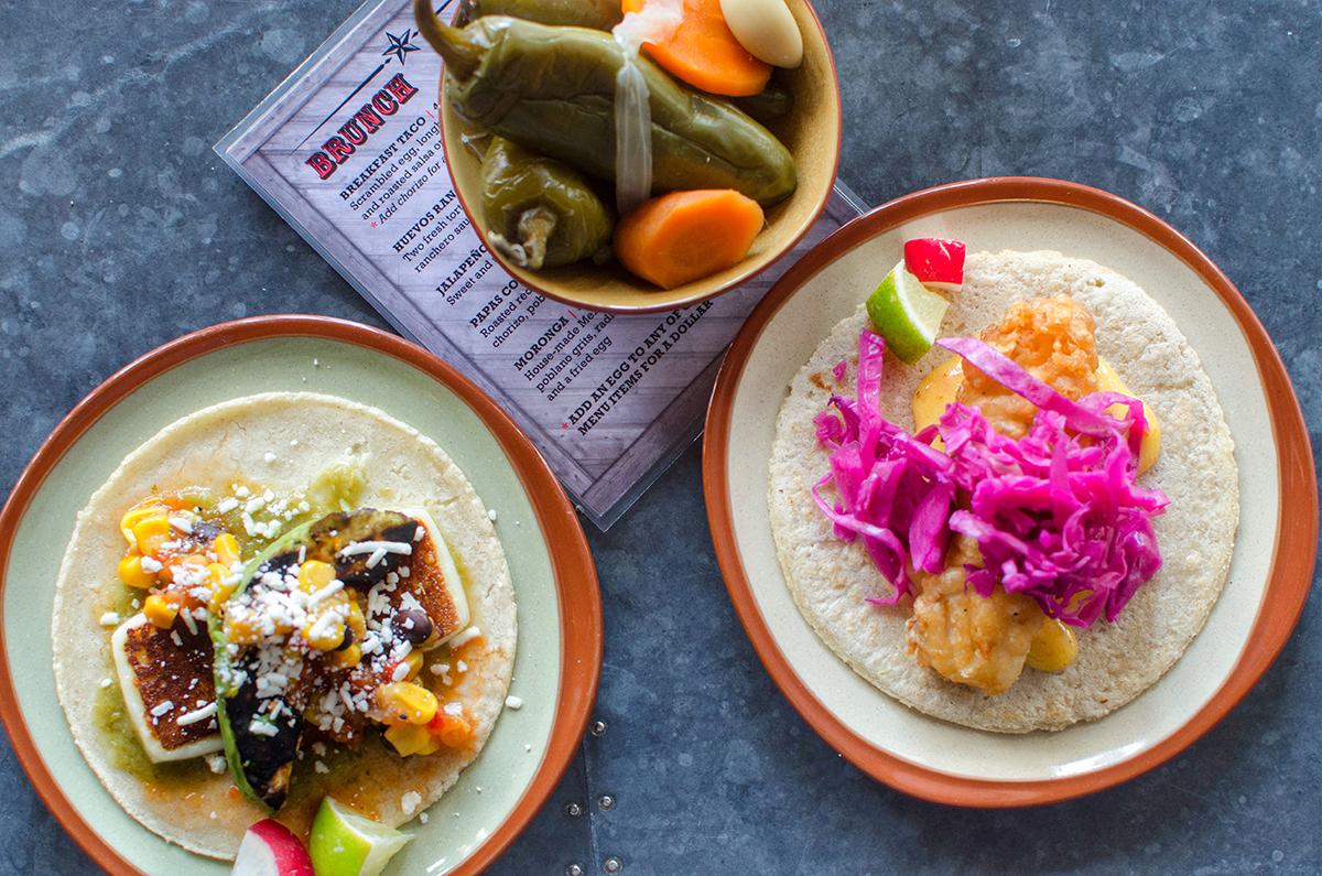 Tacos at Lone Star Taco Bar.