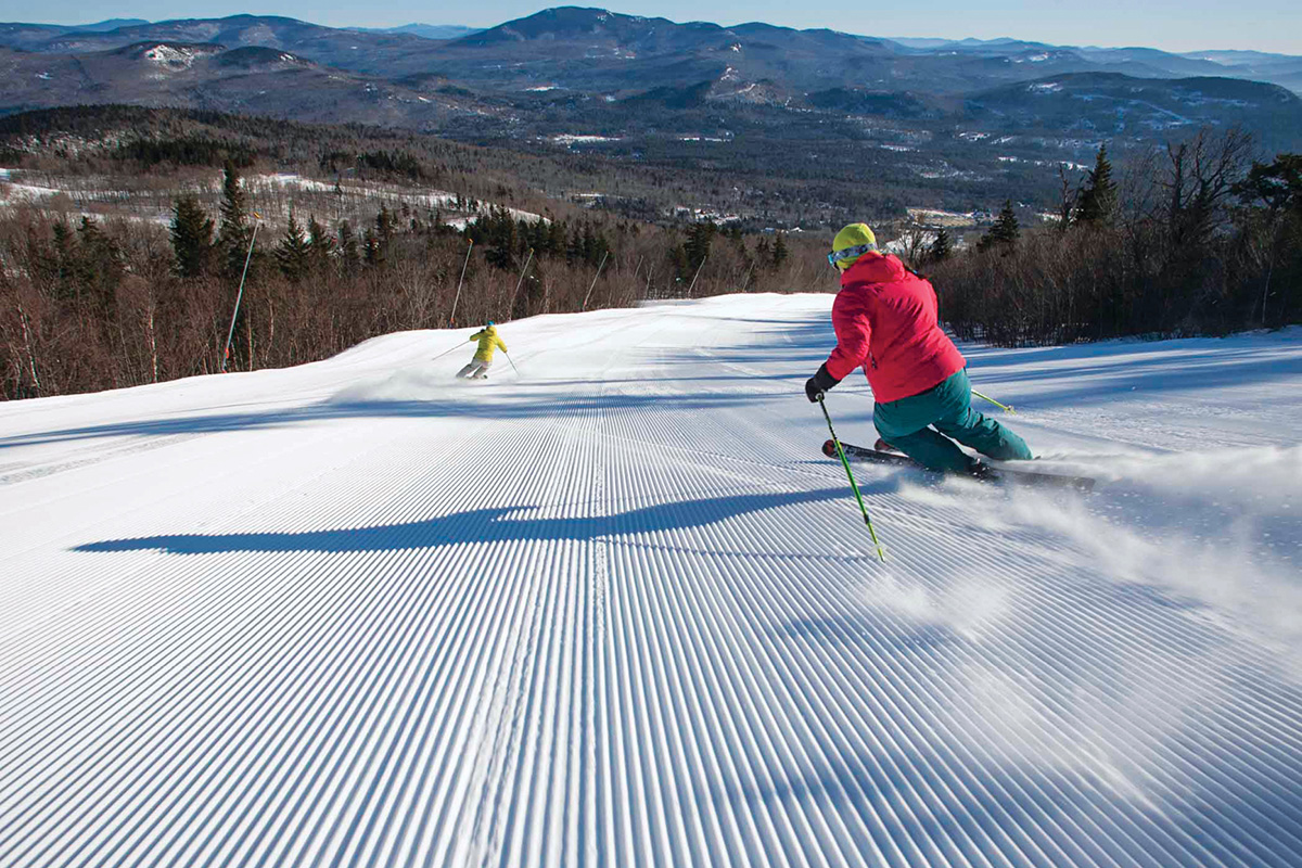 Four Popular Ski Resorts in New England