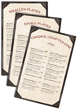 standalone menus