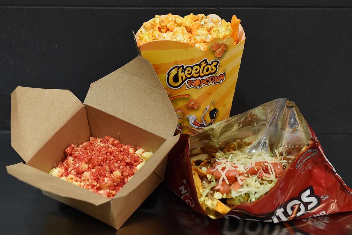 Frito Lay Test Kitchen snacks at TD Garden