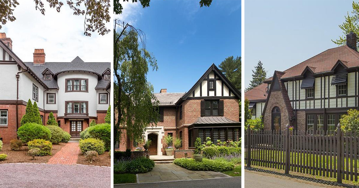 Five tudor homes for sale near boston boston magazine for Tudor style house for sale