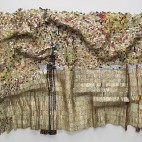 Black River El Anatsui (Ghanaian, born in 1944, active in Nigeria) 2009 Aluminum, bottle caps and copper wire * Towles Fund for Contemporary Art, Robert L. Beal, Enid L. Beal 