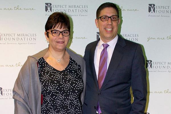 Marti DePaola, Greg DePaola (Wells Fargo). / Photo by Leo Gozbekian and Tanya McGee