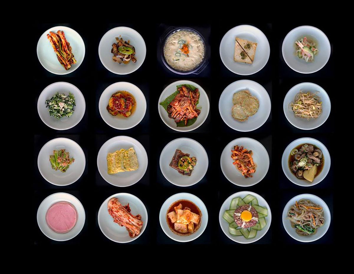 Koreatown dishes