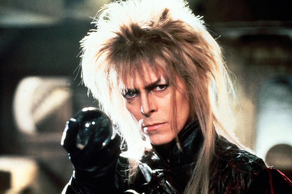 David Bowie as King Jareth in Labyrinth