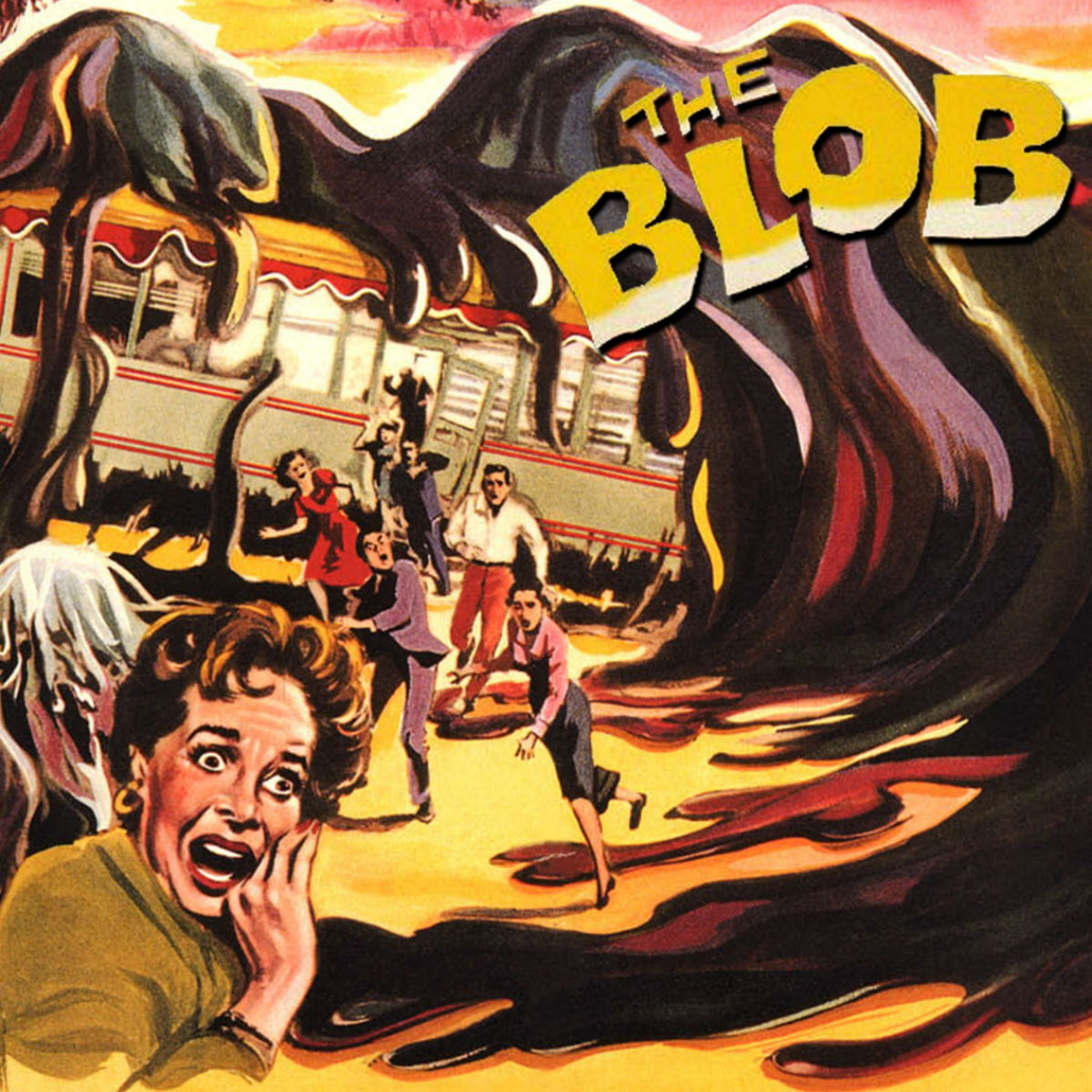 Poster art for The Blob (1958)