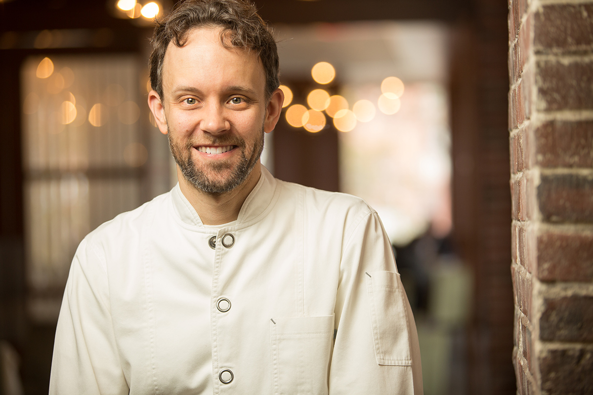 Chef/owner Michael Pagliarini. / Photo by Erik Jacobs / JacobsPhotographic