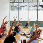 Zen out during a vinyasa flow session at Arlington's Black Crow Yoga. / Photograph by Jared Kuzia