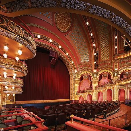 Cutler Majestic Theatre interior sq