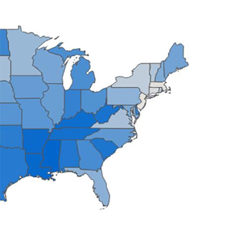 Fattest States