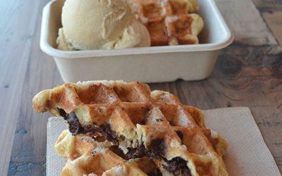 Honeycomb Creamery liege waffles