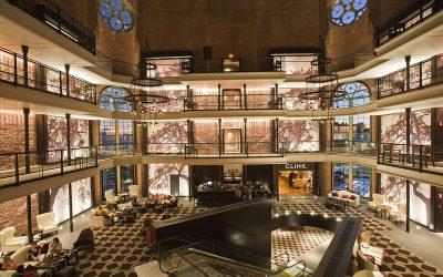 Liberty Hotel lobby