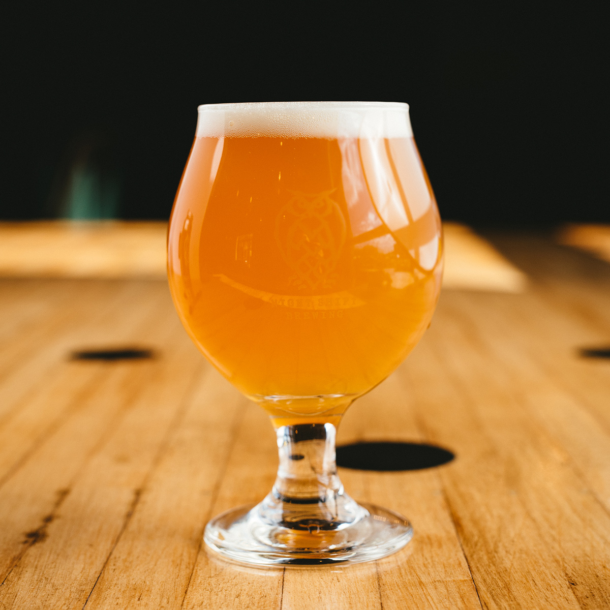 XLV, the newest presidential double IPA from Night Shift Brewing. / Photo by Tim Oxton