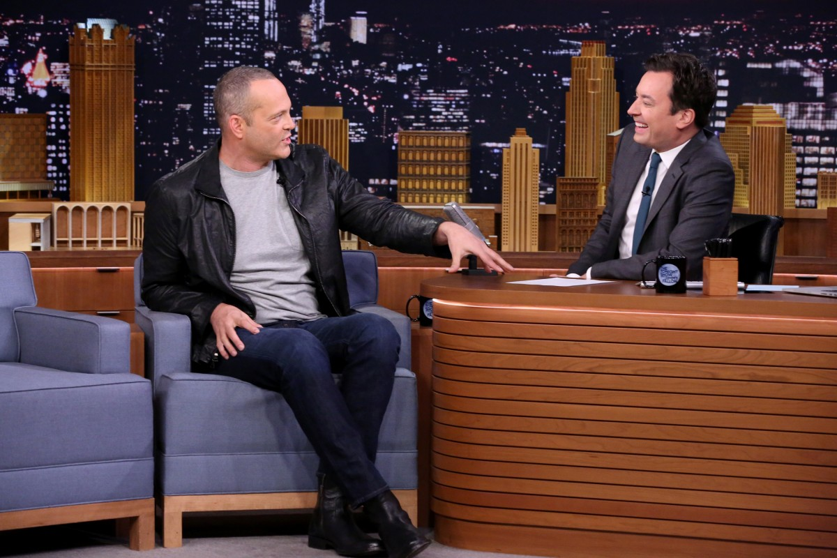 Vince Vaughn and Jimmy Fallon