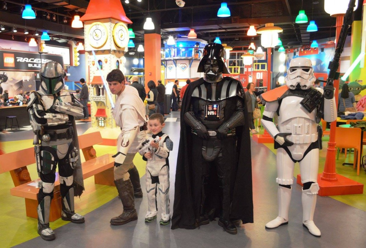 Star Wars Days at Legoland Discovery Center Boston