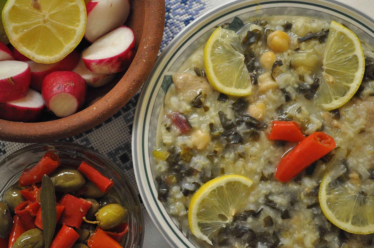 Figaiyya stew from 'The Gaza Kitchen.'