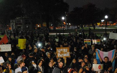 boston common anti trump protest