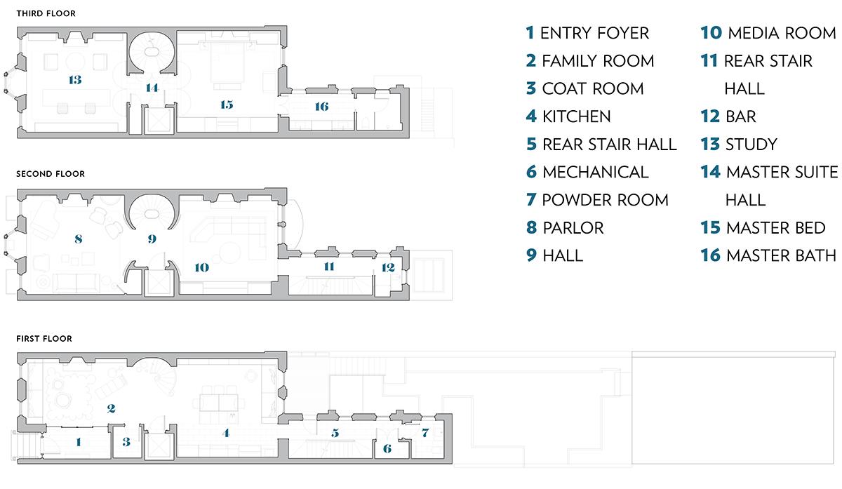 beacon hill townhouse boston common floor plans