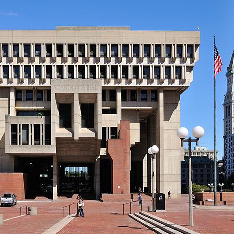 City Hall Plaza, Boston