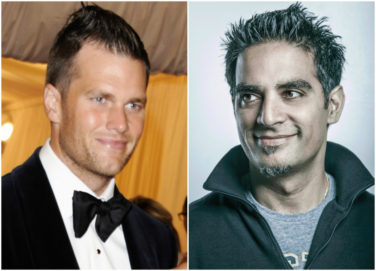 Tom Brady and Gotham Chopra