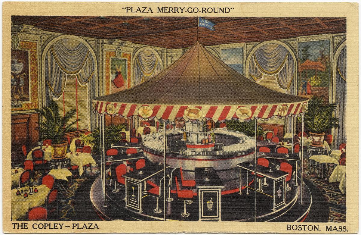 copley plaza merry go round