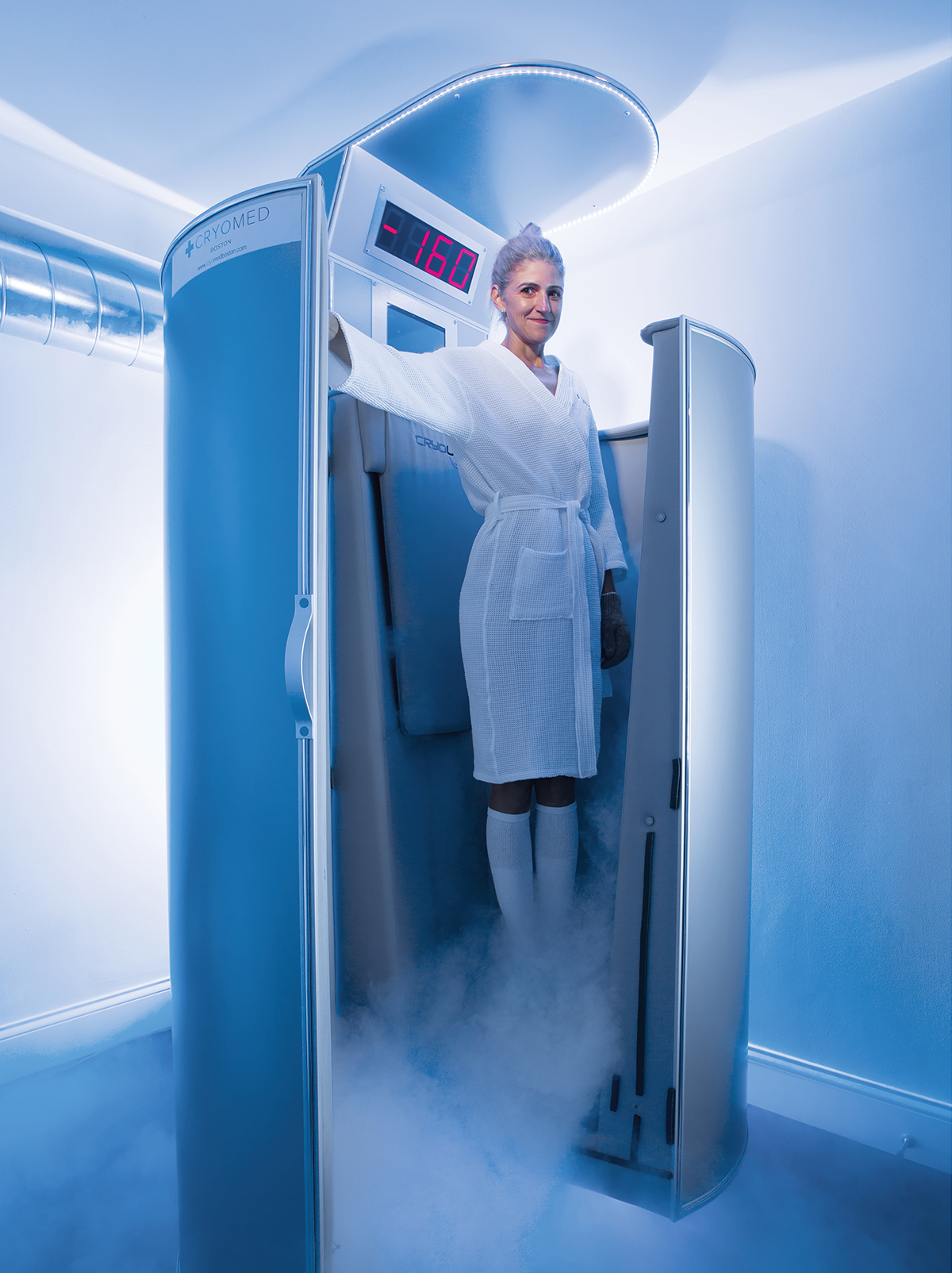 We Tried It: Cryotherapy at Cryomed Boston