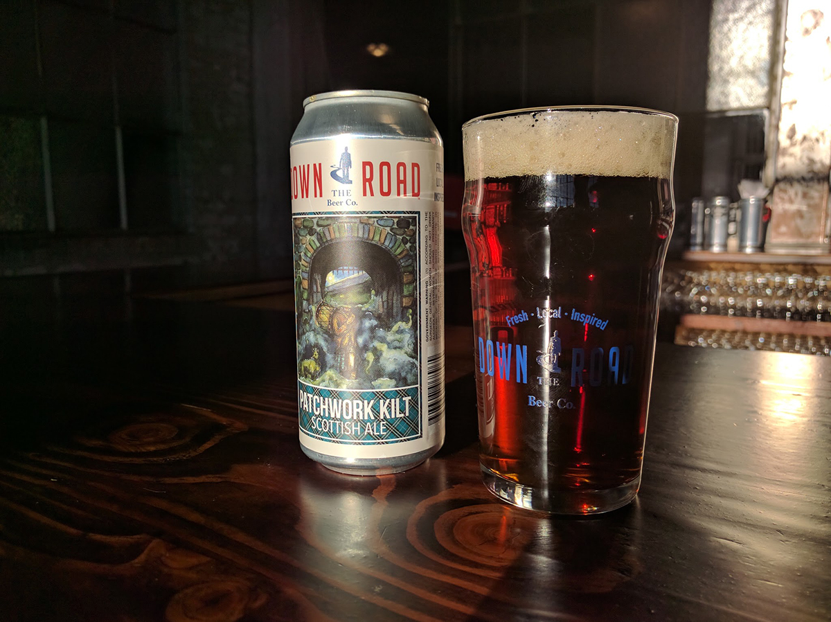 Patchwork Kilt by Down the Road brewery
