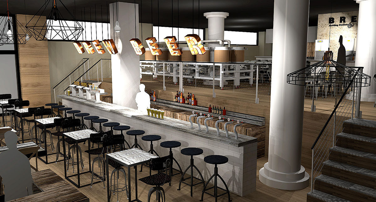 A rendering of Hopster's upcoming space in the Seaport. / Photo provided