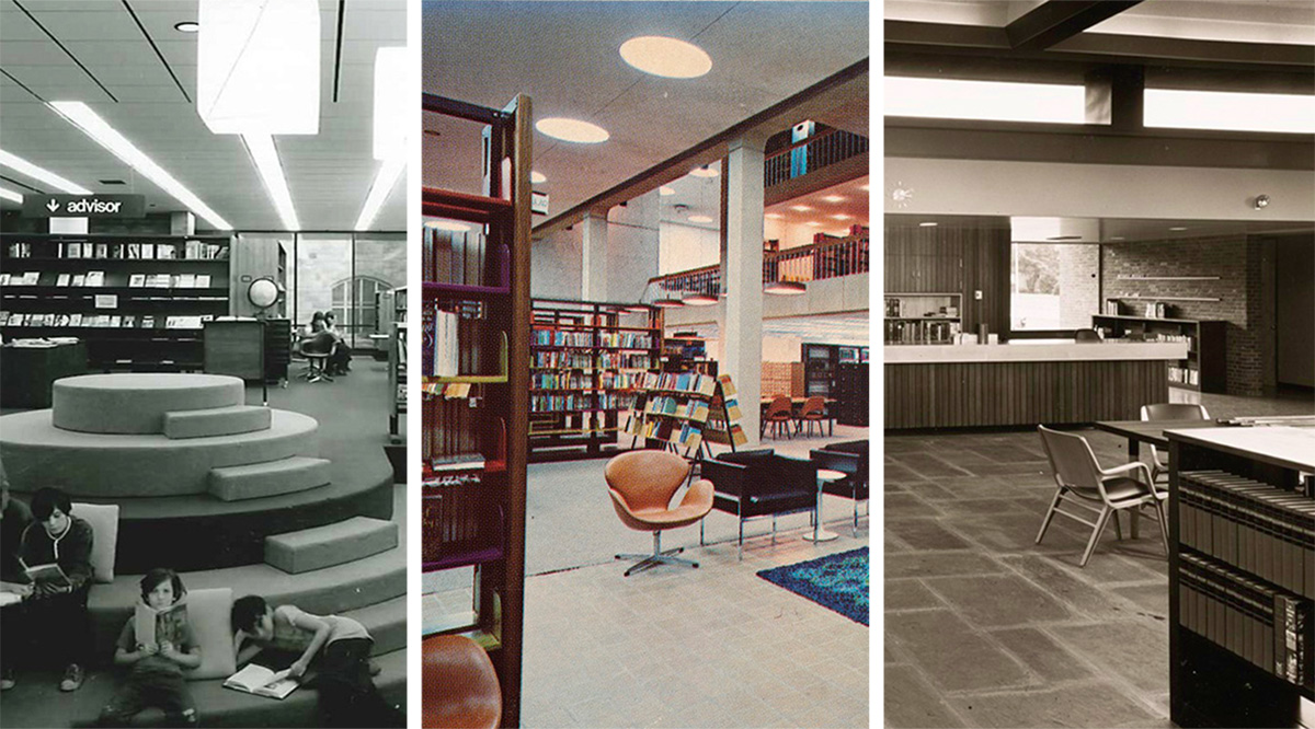 Massachusetts Libraries 1960s