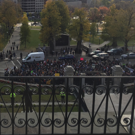 shns state house rally sq