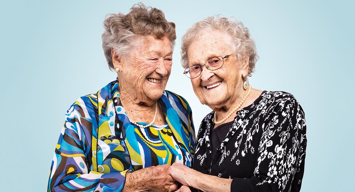 sisters centenarians agnes buckley mildred macisaac sm
