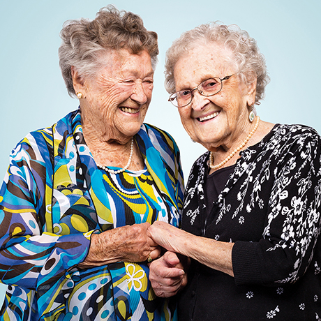 sisters centenarians agnes buckley mildred macisaac sq
