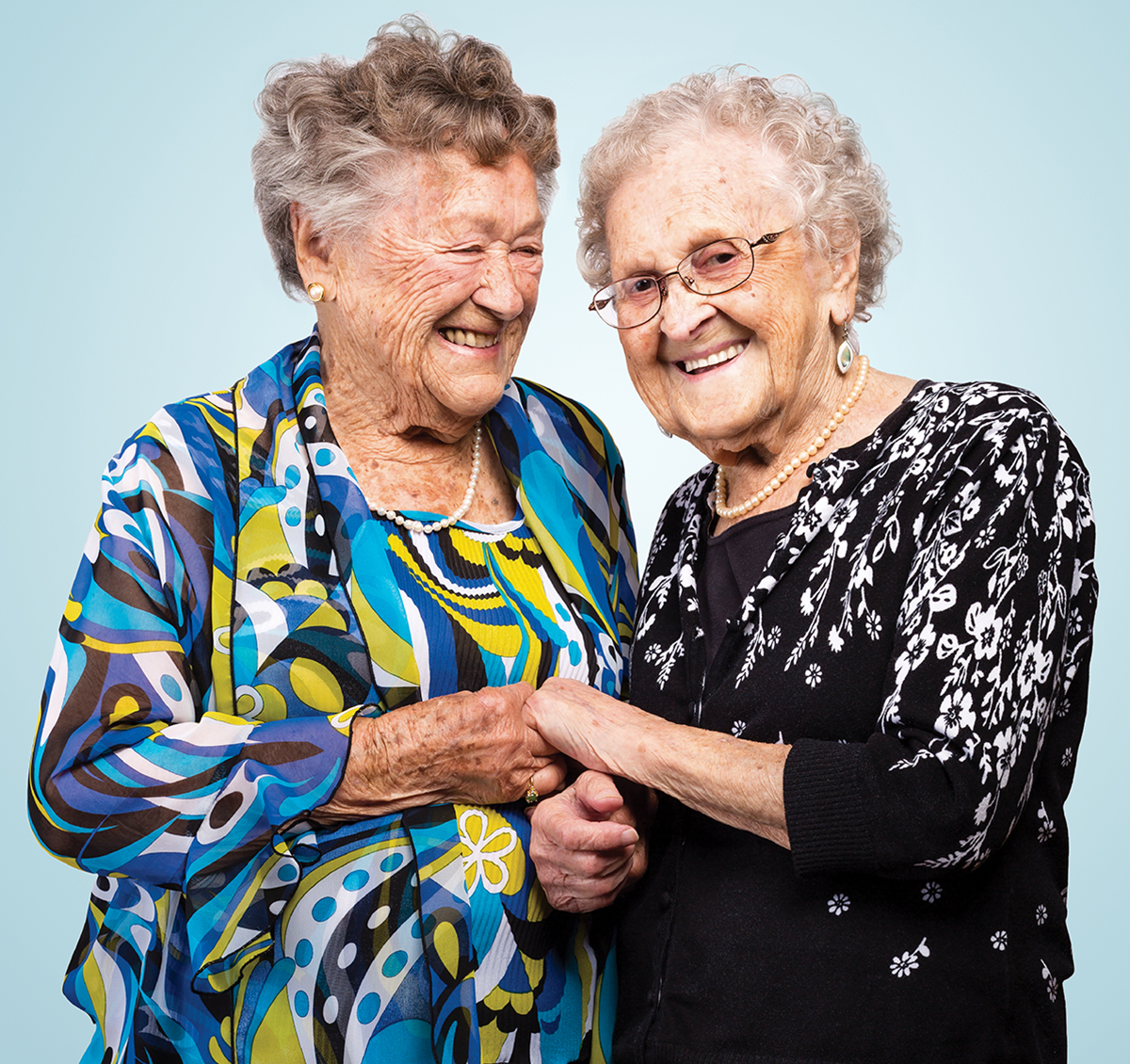 sisters centenarians agnes buckley mildred macisaac