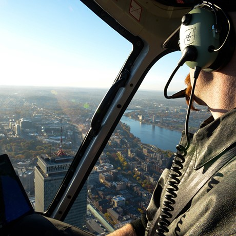 Why Are Helicopters Flying Over Boston Today >> What It S Like To Be A Boston Helicopter Tour Pilot